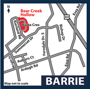 Bear Creek Hollow Grandview Key Map
