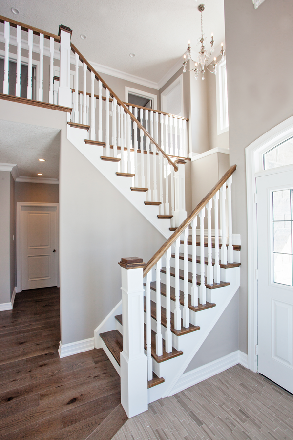 Railings And Staircases Gallery Grandview Homes