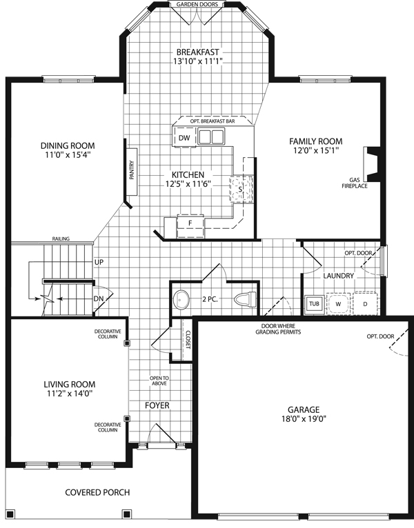 Castlerock 2 600 grandview homes for 2600 square foot house plans