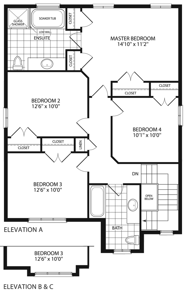 Grandview Homes Floor Plans Jameston I 3 250 Sq Ft