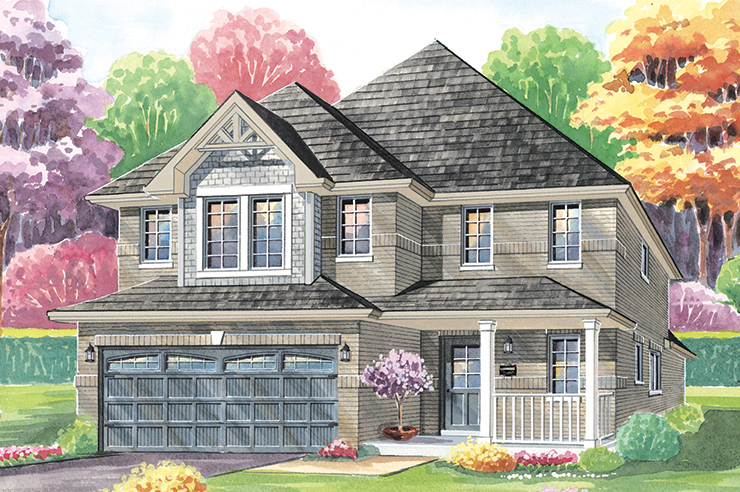Mountaincroft Derby II Elevation B