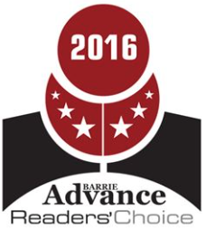 Barrie Advance Readers' Choice Nomination Logo